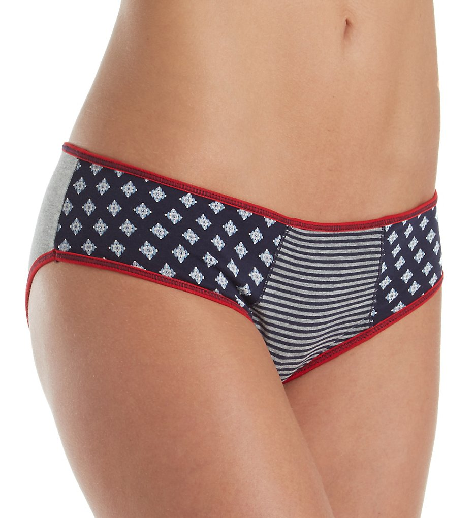 Tommy Hilfiger R17T049 Cotton Hipster Print Mix Panty