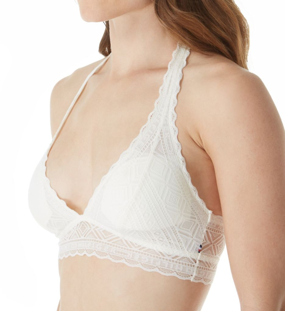 Tommy Hilfiger Pretty Lace Halter Bralette