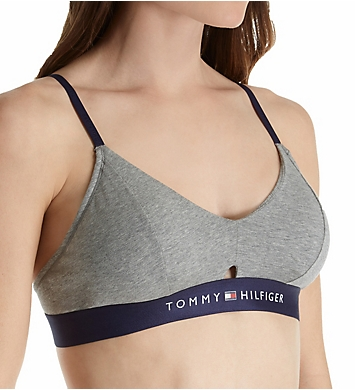 Tommy Hilfiger Cotton Lounge Keyhole Bralette with Cookies