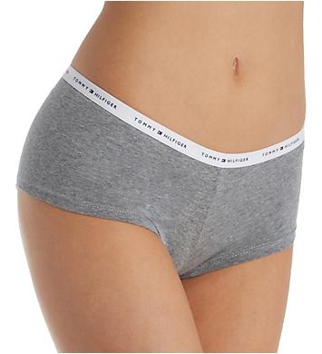 Tommy Hilfiger Classic Cotton Logo Boyshort Panty - 2 Pack