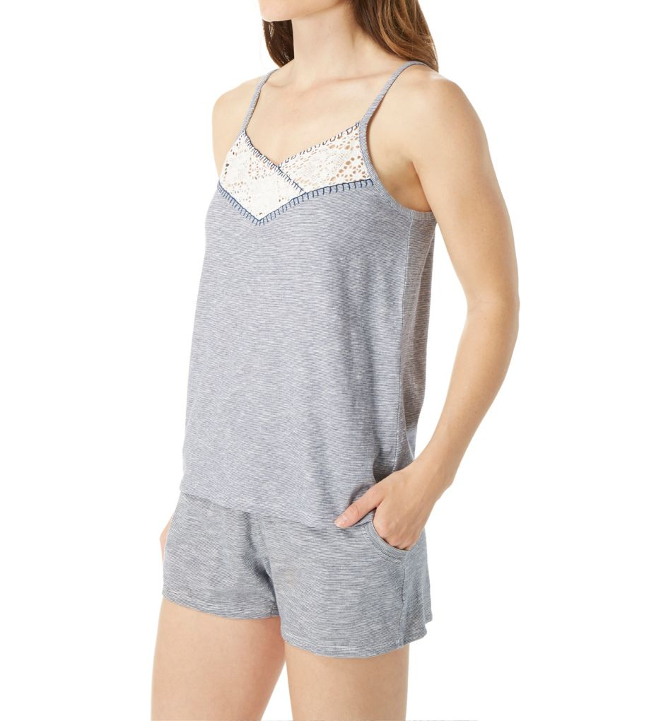 Tommy Hilfiger The American Dreamer Spacedye Camisole & Short Set