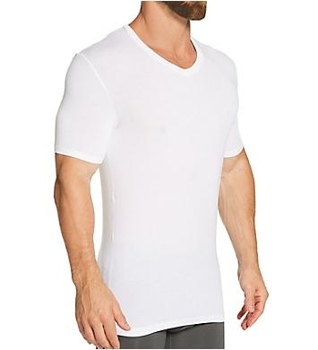 Tommy John Second Skin Stay-Tucked V-Neck Undershirt