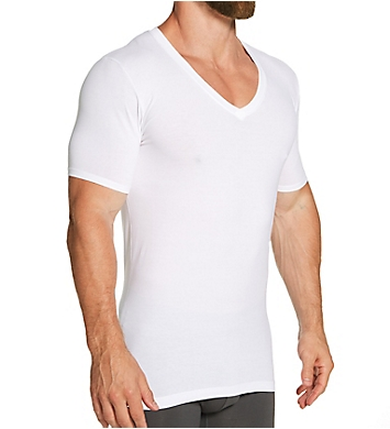 Tommy John Cool Cotton Deep V Undershirt
