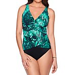 Plume Megan Surplice One Piece Swimsuit