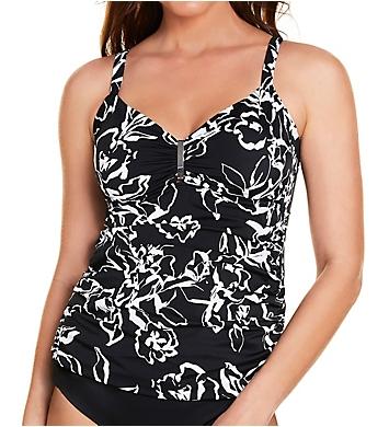 Trimshaper Water Lily Bella Tankini Swim Top