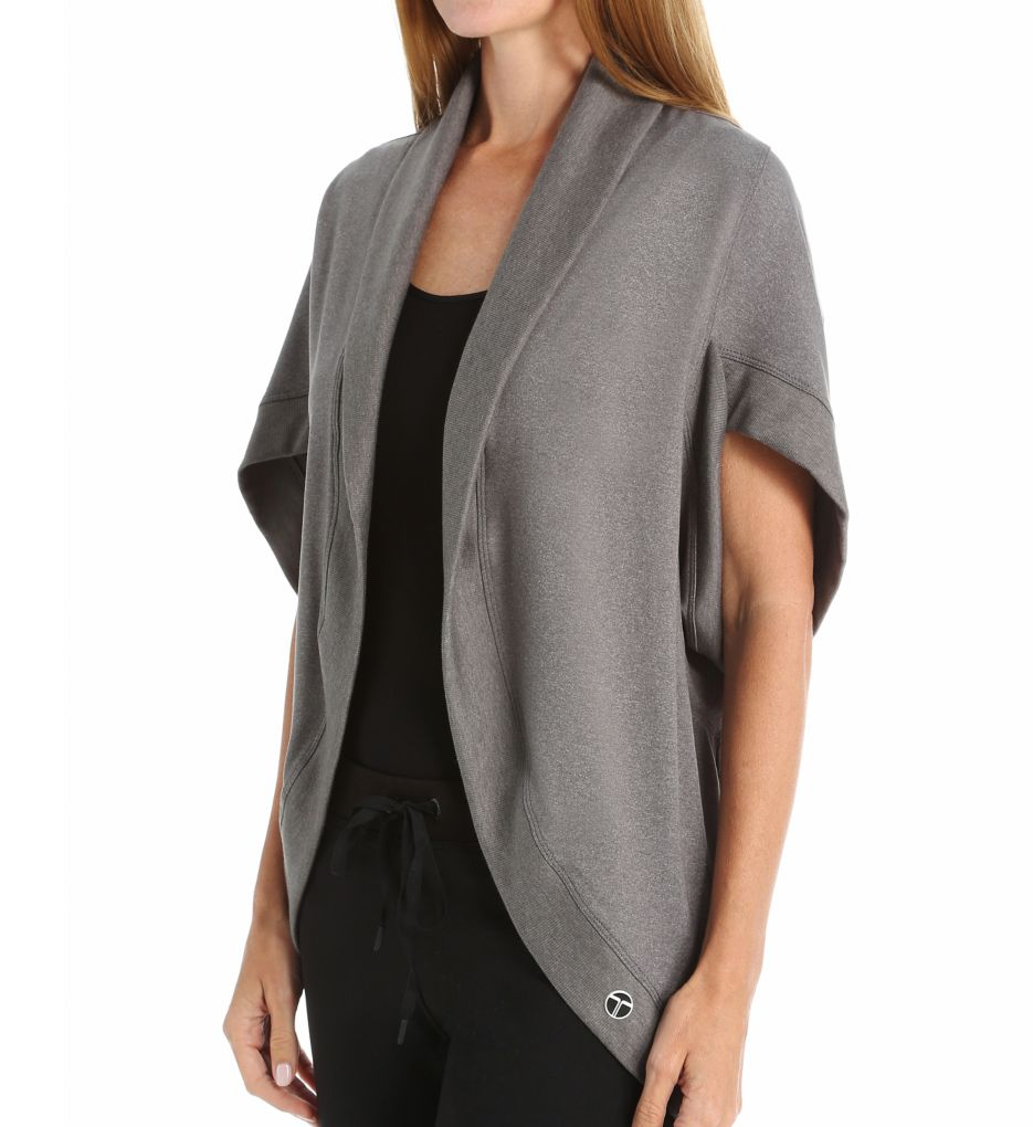 Trina Turk Quilted Layering Pieces Kimono Jacket
