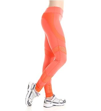 Trina Turk Laser Cut Solid Full Length Legging