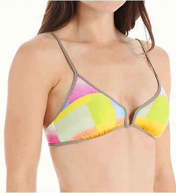 Trina Turk Crystal Cove Triangle Swim Top