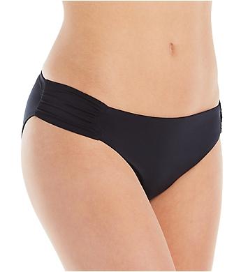 Trina Turk Getaway Solids Shirred Side Hipster Swim Bottom