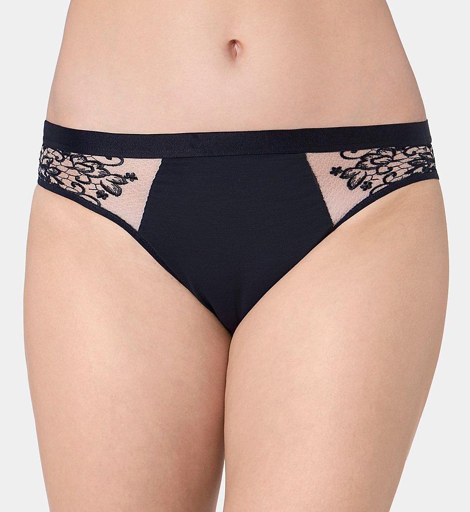 Triumph - Triumph 81785 Florale Dalhia Bikini Panty (Black L)