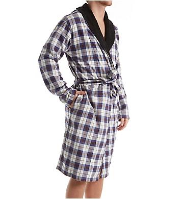 UGG Kalib Plaid Woven Fleece Robe