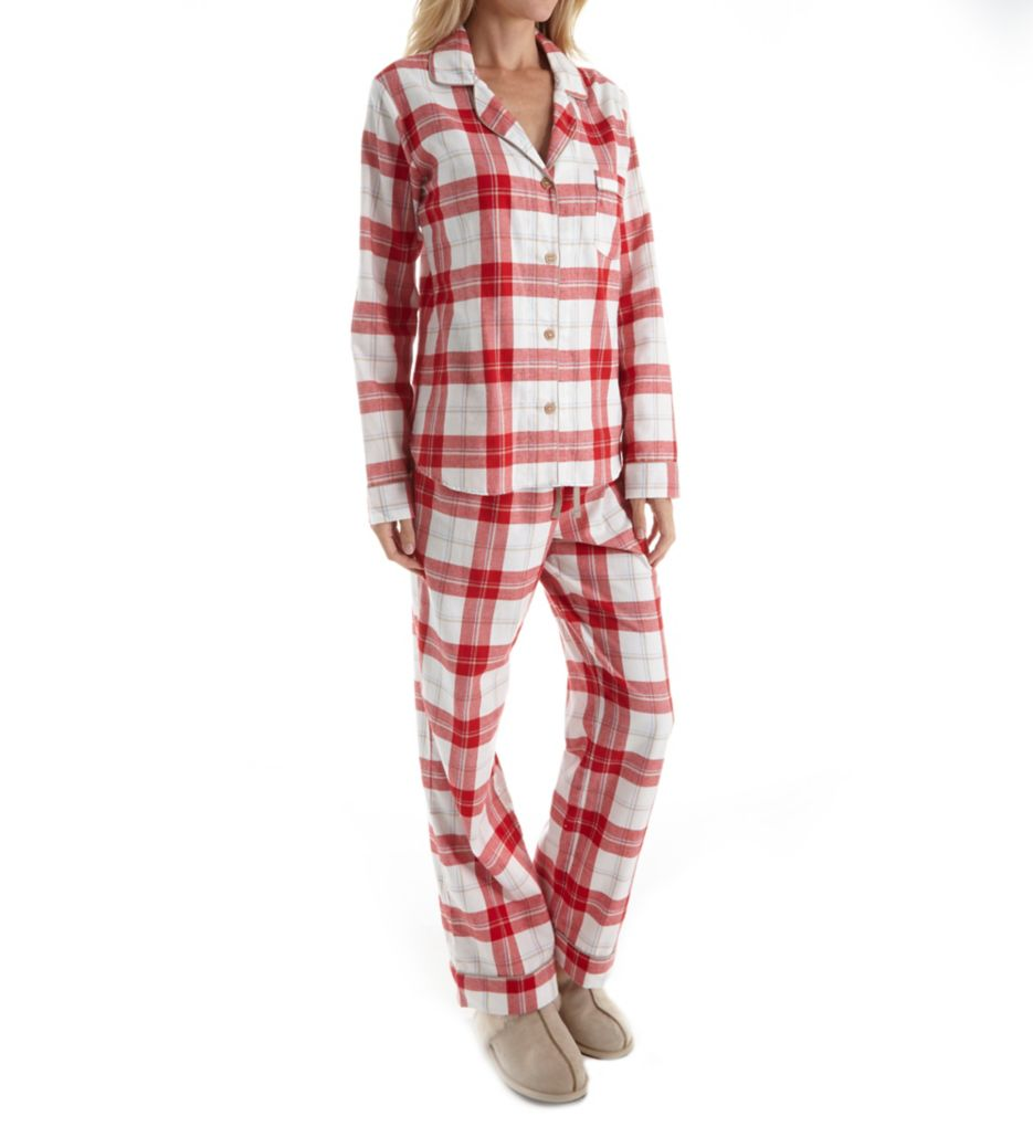 UGG Raven Flannel Plaid PJ Set