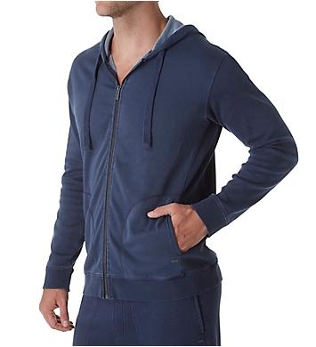 UGG Elliot Washed Double Knit Fleece Hoodie