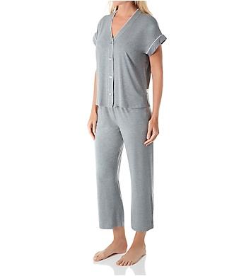UGG Addi Short Sleeve Crop Pant PJ Set