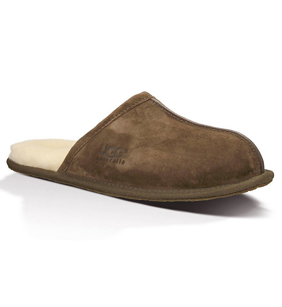 ugg 5776 scuff suede slipper (espresso suede shoe 9)
