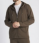 Bownes Double Knit Full Zip Fleece Hoodie