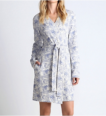 UGG Clio Island Floral Waffle Knit Robe
