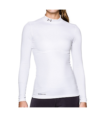 Under Armour UA ColdGear Authentic Mock Long Sleeve Shirt