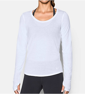 Under Armour UA Threadborne HeatGear Streaker Long Sleeve Tee