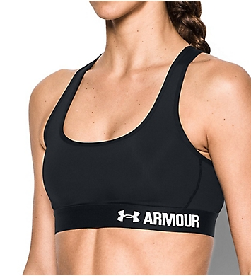 Under Armour HeatGear Armour Crossback Mid-Impact Sports Bra