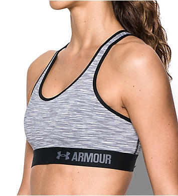 Under Armour HeatGear Armour Mid-Impact Melange Sports Bra