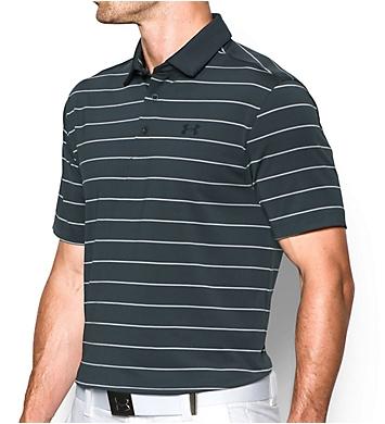 Under Armour Coldblack Swing Plane Striped Golf Polo Shirt