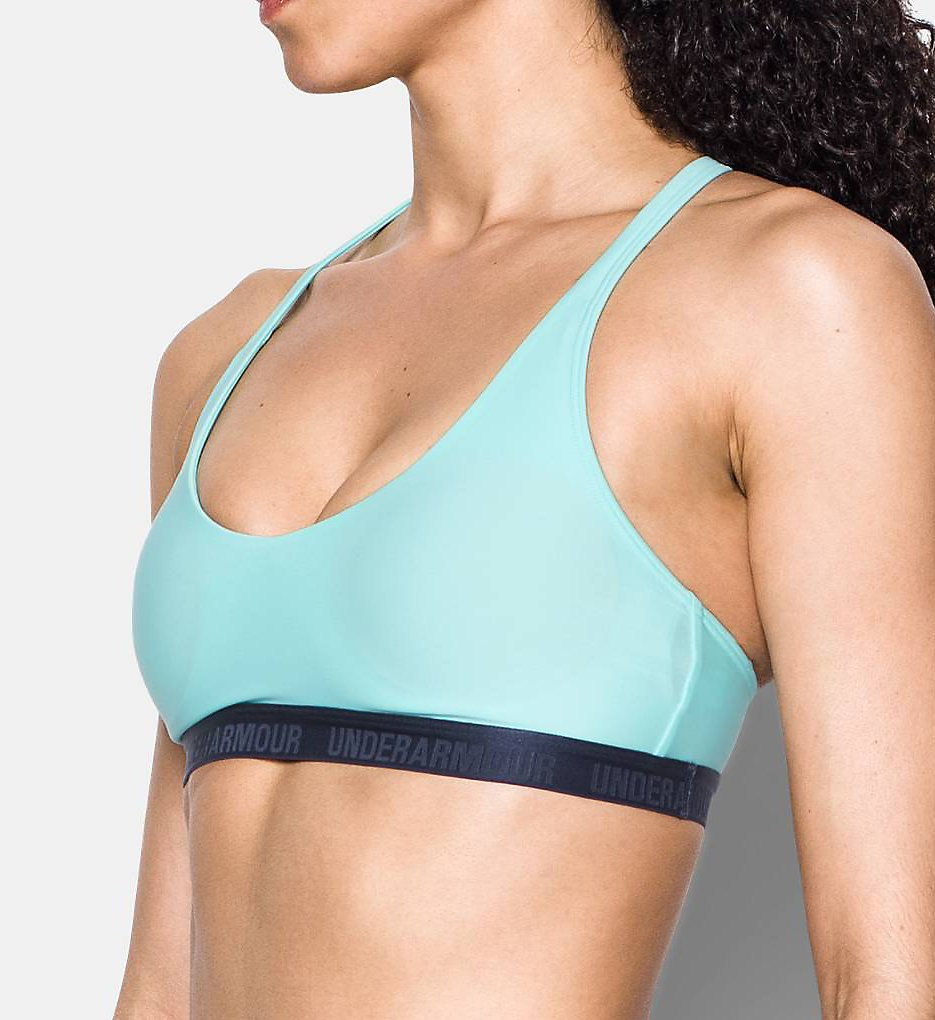 Under Armour 1289445 Armour Low-Impact Strappy Back Sports Bra