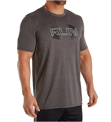 Under Armour Overlap Running Short Sleeve T-Shirt