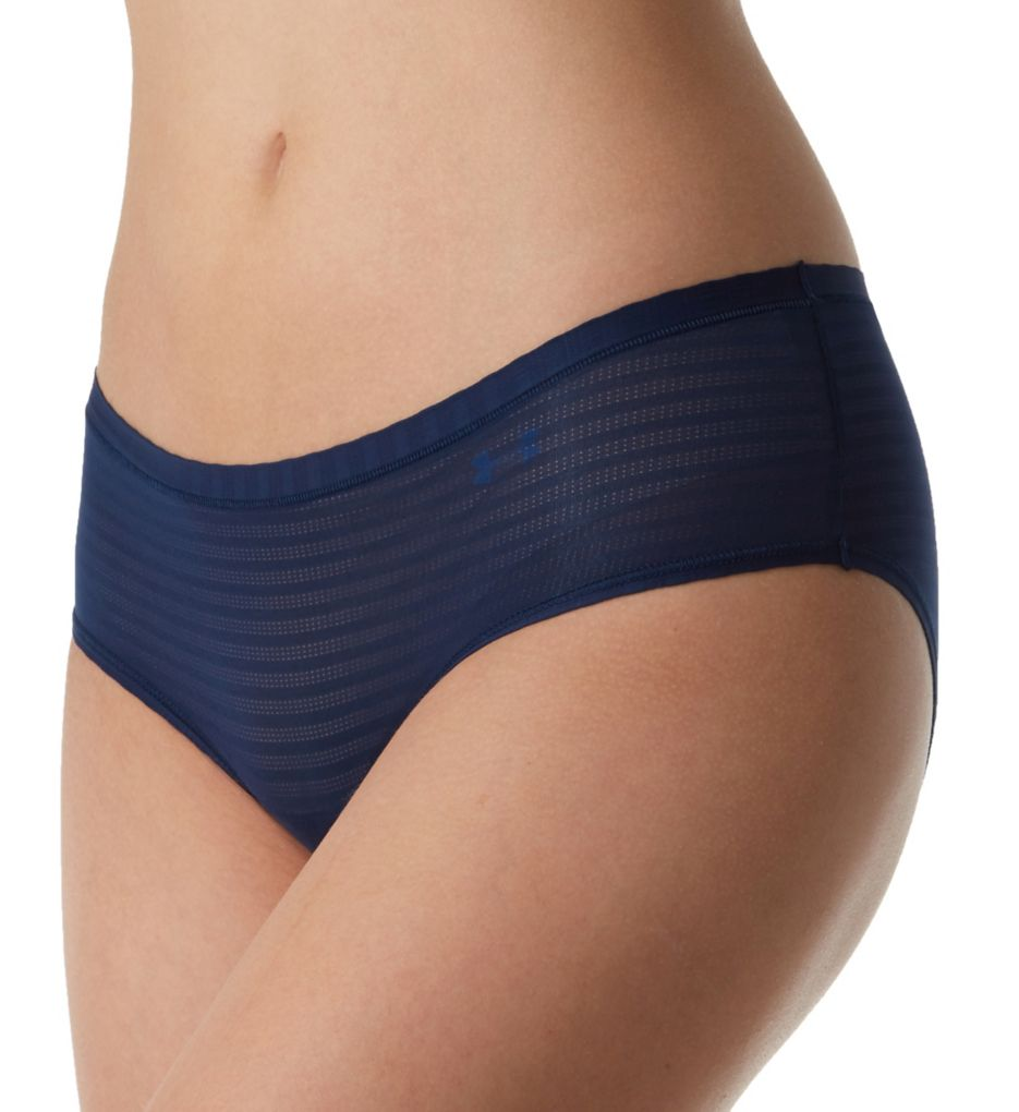 Under Armour Pure Stretch Sheer Striped Hipster Panty