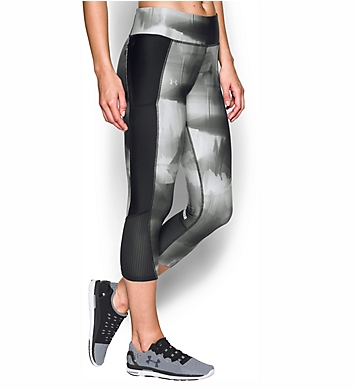 Under Armour HeatGear Fly By Printed Compression Capri