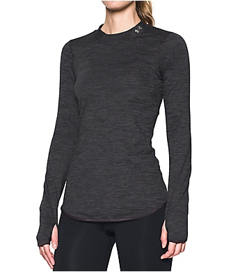 Under Armour ColdGear Armour Fitted Mock Neck Long Sleeve Shirt
