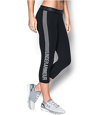 Under Armour UA Favorite Charged Cotton Graphic Capri