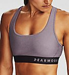 Armour Crossback Heather Mid Impact Sports Bra