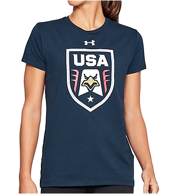 Under Armour Top Step Crest Short Sleeve Tee