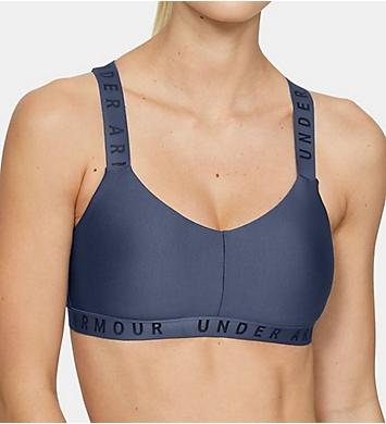 Under Armour Wordmark Strappy Low Impact Sports Bra