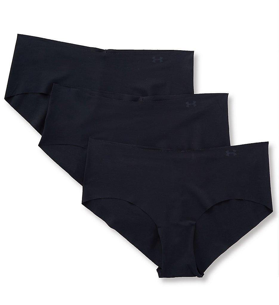 Under Armour (2192435) -- Under Armour 1325616 Hipster Panty with Laser Cut Edge - 3 Pack (Black XS)