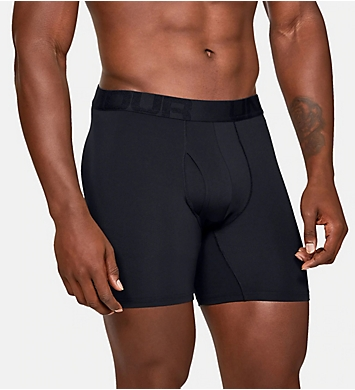 Under Armour Tech Mesh 6 Inch Boxerjocks - 2 Pack
