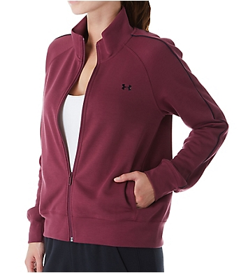Under Armour Double Knit Full Zip Track Jacket