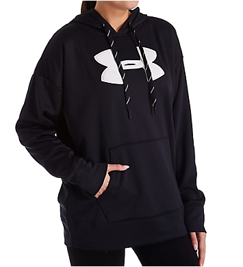 Under Armour Synthetic Fleece Chenille Logo Pullover Hoodie