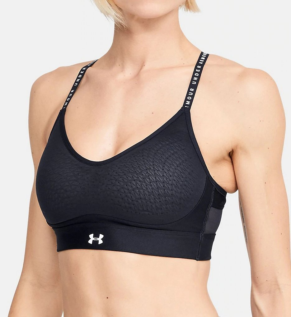 Under Armour - Under Armour 1351985 UA Infinity Low Impact Sports Bra (Black S)