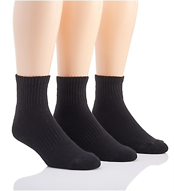 Under Armour Training Cotton Quarter Socks - 3 Pack
