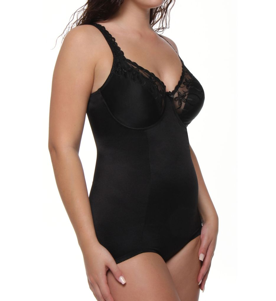 Va Bien Classic Full Figure Long Torso Bodysuit