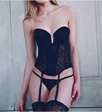 Va Bien So Femme Push Up Plunge Bustier