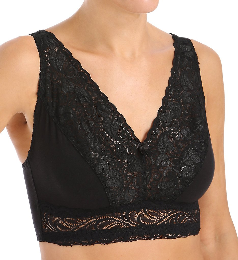 Valmont 23057 Lace Leisure Bra (Black)