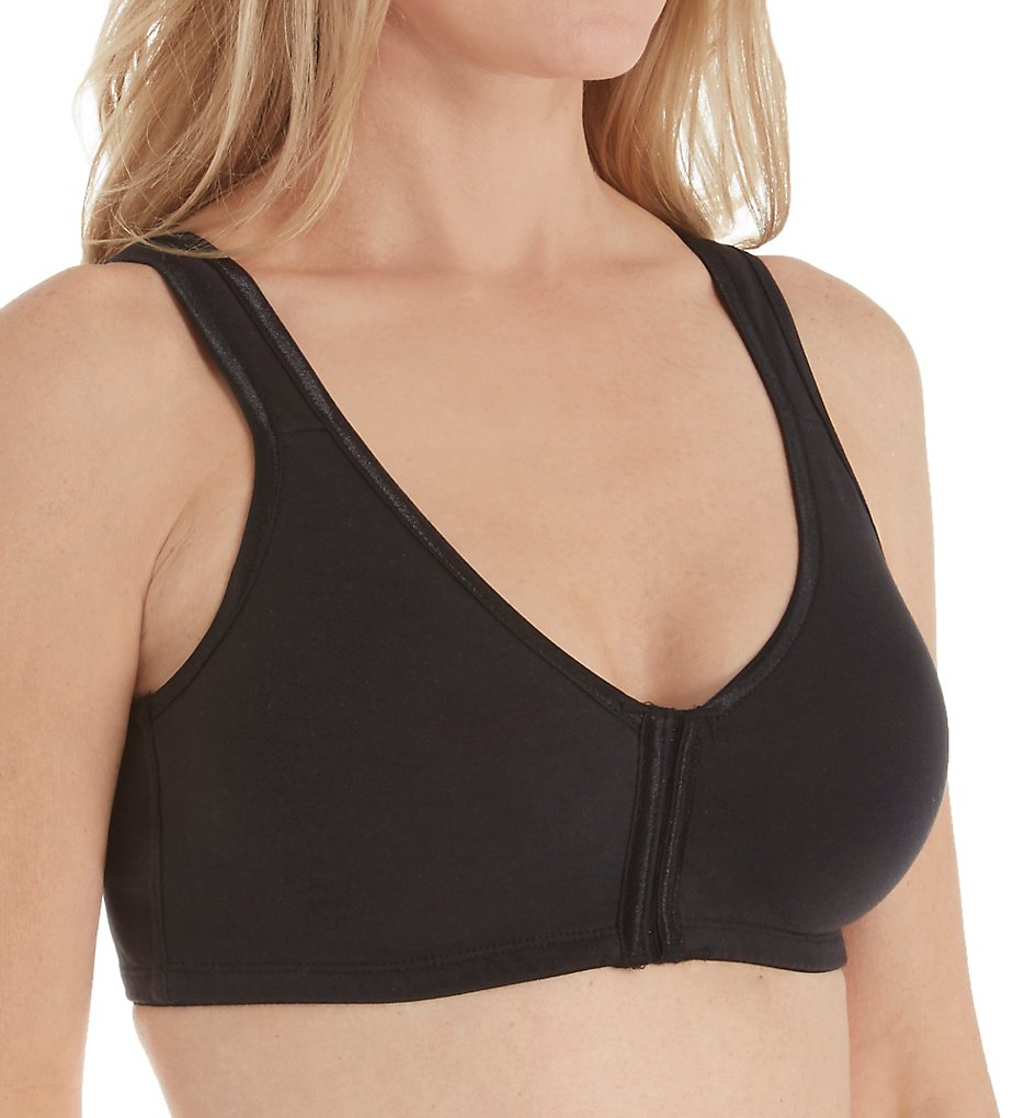 Valmont 45801 Satin Trim Front Closure Soft Bra