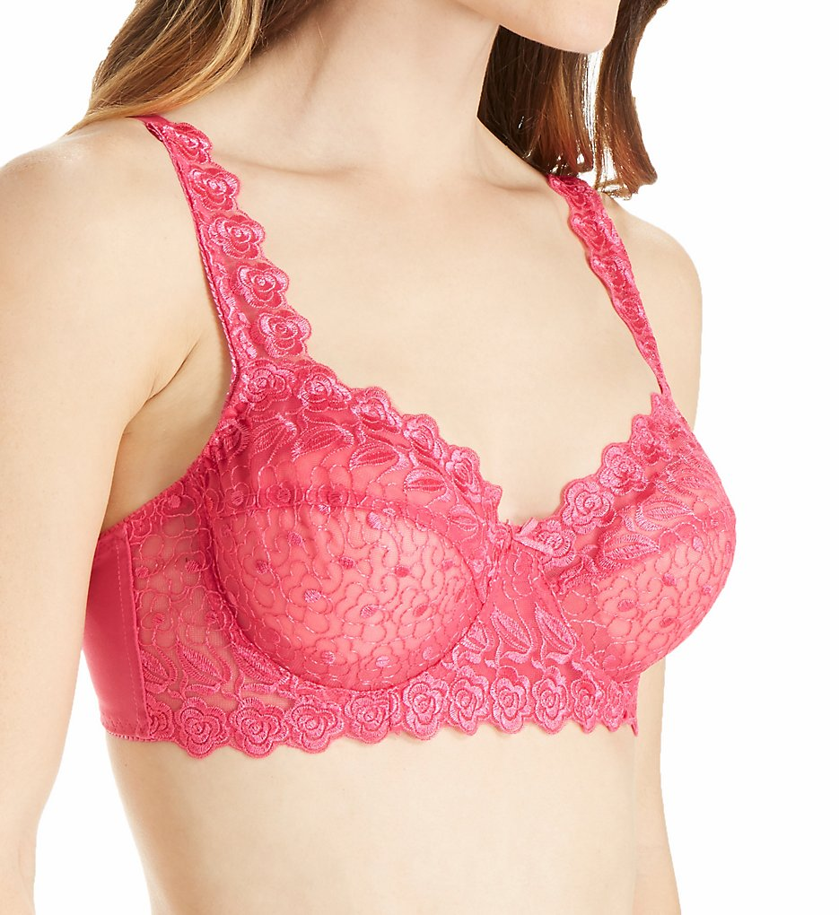 Valmont 8320 Embroidered Lace Underwire Bra