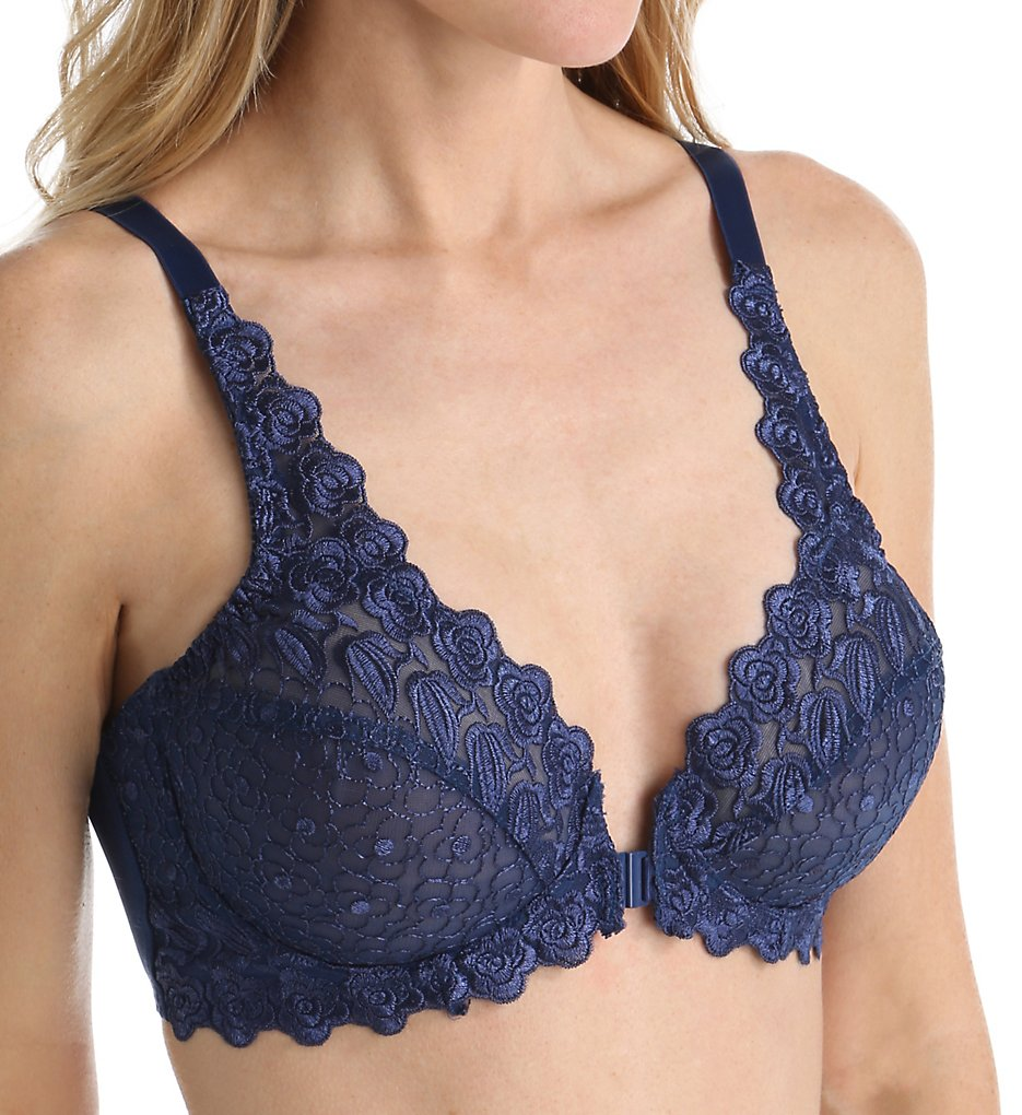 Valmont 8323 Front Close Lace Cup Underwire Bra