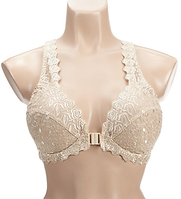 Valmont Front Close Lace Cup Underwire Bra 8323