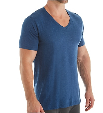 Van Heusen 100% Cotton V-Neck T-Shirt - 4 Pack