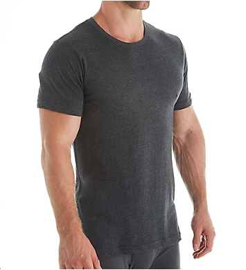 Van Heusen 100% Cotton Crew Neck T-Shirt - 4 Pack